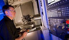 machining work