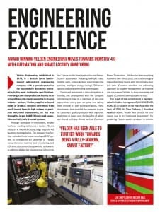 Manufacturing and Engineering Magazine Article